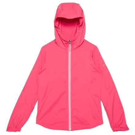 Columbia Sportswear Splash Flash II Omni-Shield® Jacket (For Little and Big Girls) in Bright Geranium