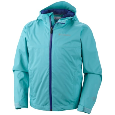 Columbia Sportswear Splash Maker II Rain Jacket - Waterproof (For Kids and Youth) in Opal Blue