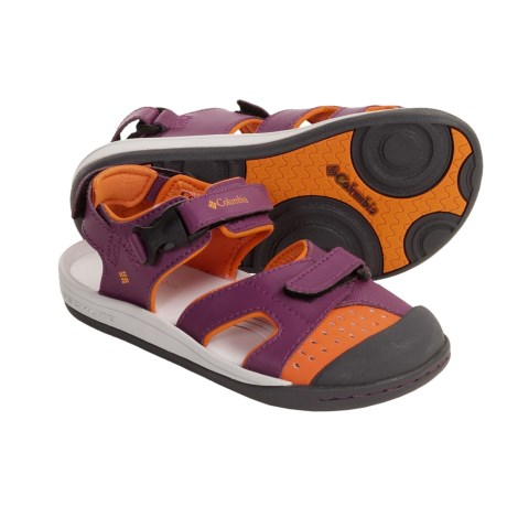 Columbia Sportswear Splasher Sport Sandals (For Youth) in Tarte/Orange Pop