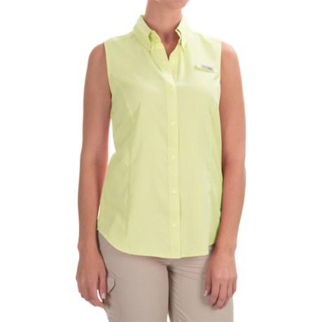 Columbia Sportswear Sportswear Omni-Wick® PFG Tamiami Shirt - Sleeveless (For Women)