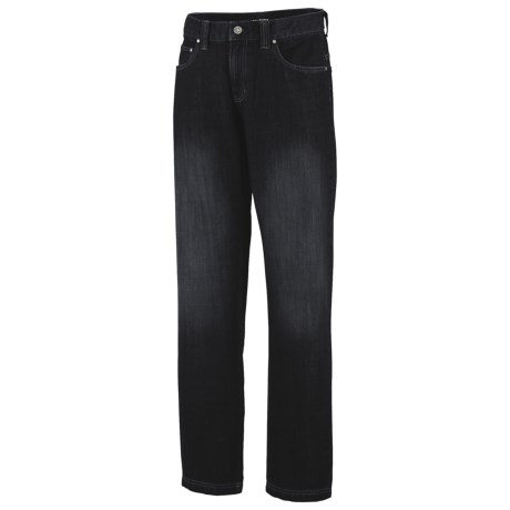 Columbia Sportswear Stahl Rung Denim Pants - UPF 50 (For Men) in Black