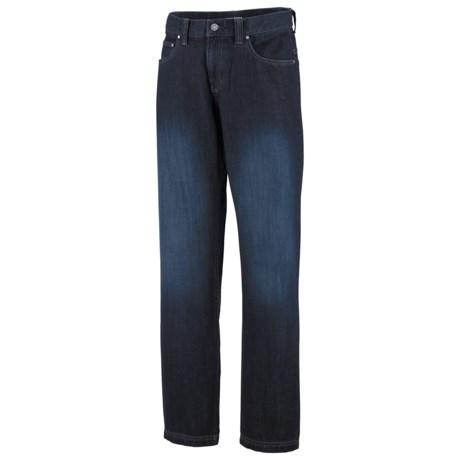 Columbia Sportswear Stahl Rung Denim Pants - UPF 50 (For Men) in Dark Sandblast