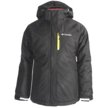 Columbia Sportswear Star Lit Ridge Omni-Heat® Winter Jacket - Waterproof (For Girls) in Black - Closeouts