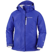 Columbia Sportswear Star Lit Ridge Omni-Heat® Winter Jacket - Waterproof (For Girls) in Light Grape - Closeouts