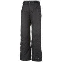 Columbia Sportswear Star Lit Ridge Omni-Heat® Winter Pants - Omni-Tech®, Waterproof (For Girls) in Black - Closeouts