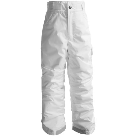 Columbia Sportswear Starchaser Peak II Pants - Insulated (For Girls) in Sea Salt