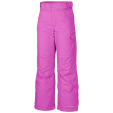 Columbia Sportswear Starchaser Peak II Pants - Insulated (For Little & Big Girls) in Foxglove - Closeouts