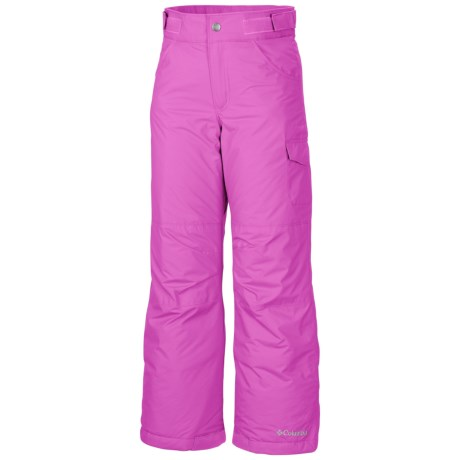 Columbia Sportswear Starchaser Peak II Pants - Insulated (For Little & Big Girls) in Foxglove