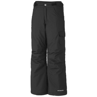 Columbia Sportswear Starchaser Peak Winter Pants - Insulated (For Girls) in Black