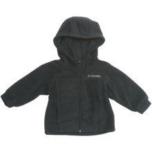 Columbia Sportswear Steens Fleece Hoodie Sweatshirt (For Infants) in Black - Closeouts