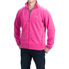Columbia Sportswear Steens Mountain 2.0 Jacket - Fleece (For Men) in Pink Ice - Closeouts