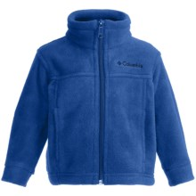 Columbia Sportswear Steens Mountain Fleece Jacket (For Infants) in Electric Avenue - Closeouts