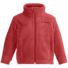 Columbia Sportswear Steens Mountain Fleece Jacket (For Infants) in Hot Rod - Closeouts