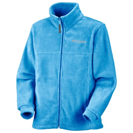 Columbia Sportswear Steens Mountain Fleece Jacket (For Infants) in Riptide