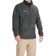 Columbia Sportswear Steens Mountain Fleece Jacket (For Men) in Charcoal Heather - Closeouts
