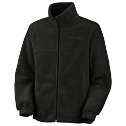 Columbia Sportswear Steens Mountain Jacket - Fleece (For Kids) in Black
