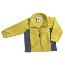 Columbia Sportswear Steens Mountain Jacket - Fleece (For Toddlers) in Yellow Curry - Closeouts