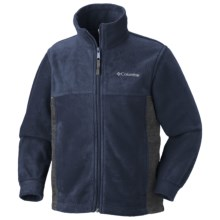Columbia Sportswear Steens Mountain Jacket - Fleece (For Youth) in Collegiate Navy - Closeouts
