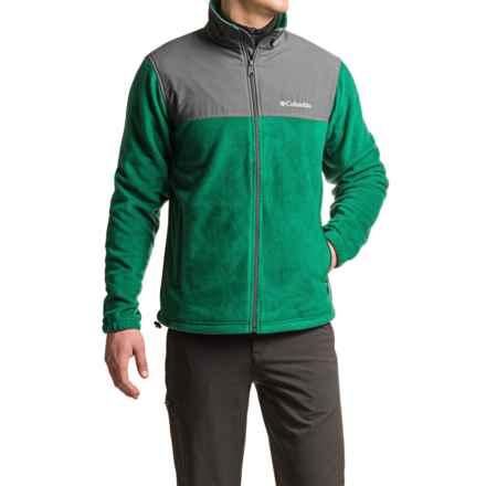 Columbia Sportswear Steens Mountain Tech II Fleece Jacket (For Men) in Wildwood Green/Grill - Closeouts