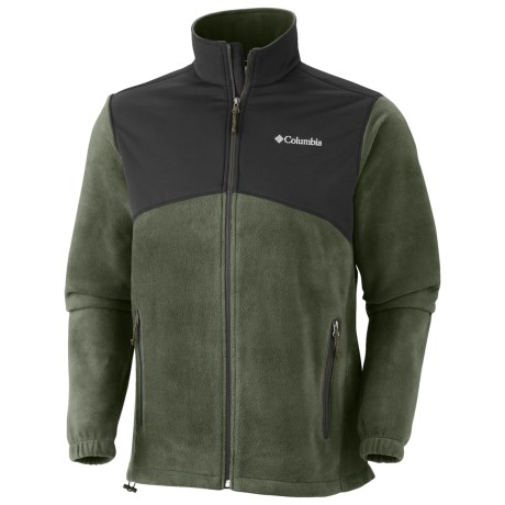 Columbia Sportswear Steens Mountain Tech Jacket - Fleece (For Men) in Aviation