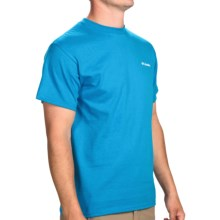 Columbia Sportswear Steep Slopes T-Shirt - Short Sleeve (For Men) in Compass Blue - Closeouts