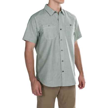 Columbia Sportswear Stirling Trail Shirt - Short Sleeve (For Men) in Commando - Closeouts