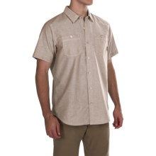 Columbia Sportswear Stirling Trail Shirt - Short Sleeve (For Men) in Delta - Closeouts