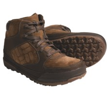 Columbia Sportswear Stoker Mid Boots - Suede (For Men) in Dark Earth/Chipmunk - Closeouts