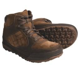 Columbia Sportswear Stoker Mid Boots - Suede (For Men) in Dark Earth/Chipmunk