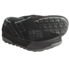 Columbia Sportswear Stoker Slip-On Shoes - Suede (For Men) in Black/Gunmetal - Closeouts