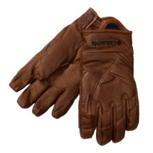 Columbia Sportswear Storm Trooper Gloves - Insulated, Titanium (For Women) in Cocoa - Closeouts