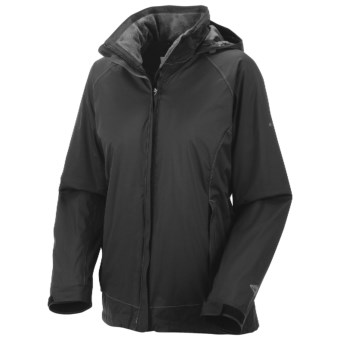 Columbia Sportswear Storming Morning Jacket - Insulated (For Women) in Black