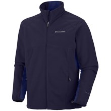 Columbia Sportswear Strata D Omni-Heat® Fleece Jacket - Soft Shell (For Men) in Ebony Blue - Closeouts