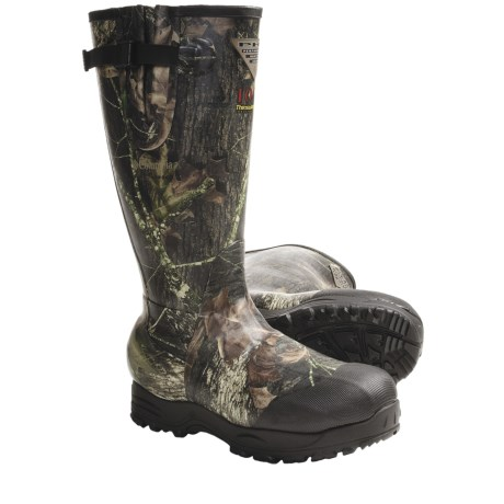 Columbia Sportswear Stuttgart Rubber Hunting Boots - Waterproof, 1000g Thinsulate® (For Men) in Mossy Oak New Break-Up