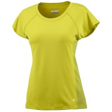 Columbia Sportswear Summer Freeze T-Shirt - UPF 50, Short Sleeve (For Women) in Chartreuse - Closeouts