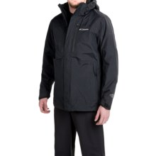 Columbia Sportswear Summit Crest Omni-Heat® Interchange Jacket - 3-in-1, Waterproof (For Men) in Black - Closeouts