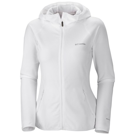Columbia Sportswear Summit Rush Ridge Fleece Hoodie (For Women) in White