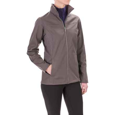 Columbia Sportswear Summit Storm Soft Shell Jacket (For Women) in Mineshaft Emboss - Closeouts