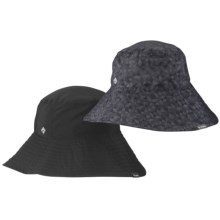 Columbia Sportswear Sun Goddess Bucket II Hat - UPF 30 (For Women) in Black/Charcoal - Closeouts