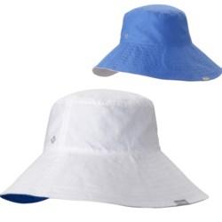Columbia Sportswear Sun Goddess Bucket II Hat - UPF 30 (For Women) in White/Harbor Blue