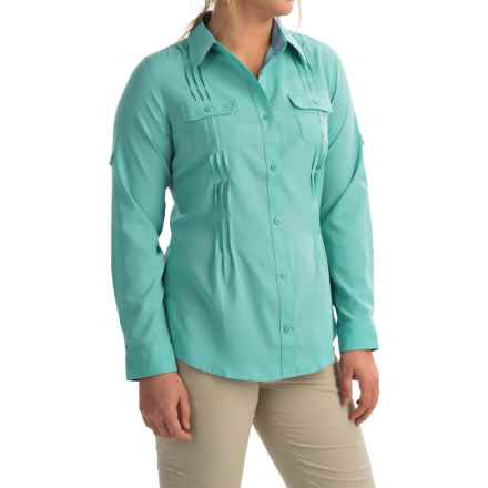 Columbia Sportswear Sun Goddess II Omni-Wick® Shirt - UPF 40, Long Sleeve (For Women) in Ocean Water - Closeouts