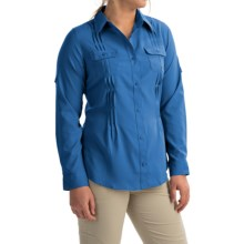 Columbia Sportswear Sun Goddess II Omni-Wick® Shirt - UPF 40, Long Sleeve (For Women) in Stormy Blue - Closeouts