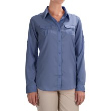 Columbia Sportswear Sun Goddess III Omni-Wick® Shirt - UPF 40+, Long Sleeve (For Women) in Bluebell - Closeouts