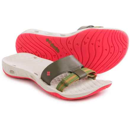 Columbia Sportswear Sunbreeze Vent Cruz Sandals (For Women) in Nori/Laser Red - Closeouts