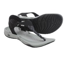 Columbia Sportswear Sunbreeze Vent Flip T Sandals (For Women) in Black/Platinum - Closeouts