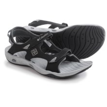 Columbia Sportswear Sunbreeze Vent Sandals (For Women) in Black/Platinum - Closeouts