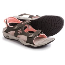 Columbia Sportswear Sunbreeze Vent Sandals (For Women) in Mud/Sorbet - Closeouts