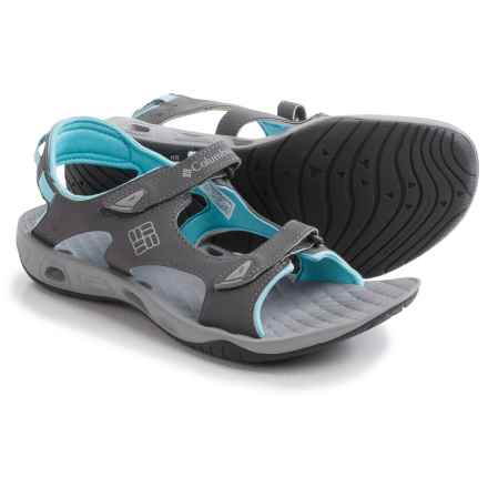 Columbia Sportswear Sunbreeze Vent Sandals (For Women) in Shale/Columbia Grey - Closeouts