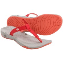 Columbia Sportswear Sunlight Vent PFG Flip-Flops (For Women) in Red Hibiscus/Coral Flame - Closeouts