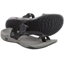Columbia Sportswear Sunrise Vent II Sandals (For Women) in Black/Platinum - Closeouts